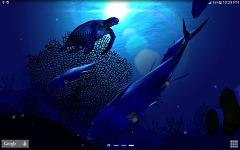 Ocean Blue 3D